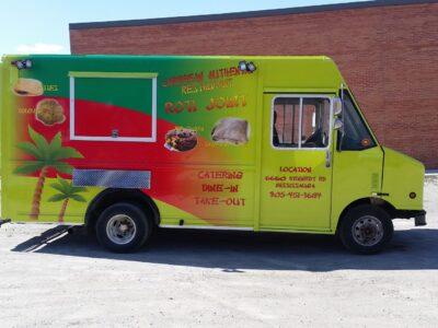 Food Truck Wraps Vinyl - 03