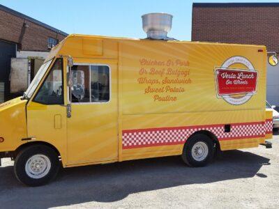 Food Truck Wraps Vinyl - 07