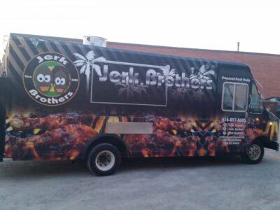 Food Truck Wraps Vinyl - 09