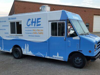 Food Truck Wraps Vinyl - 10