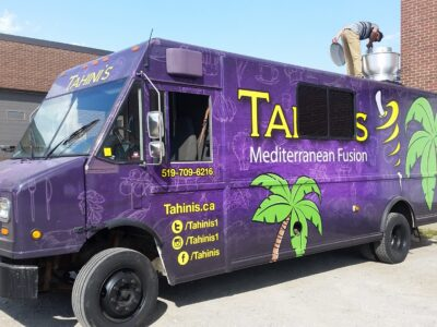 Food Truck Wraps Vinyl - 13