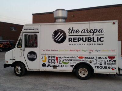 Food Truck Wraps Vinyl - 14