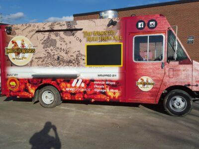 Food Truck Wraps Vinyl - 18