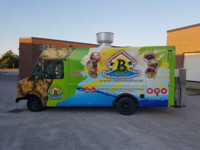 Food Truck Wraps Vinyl - 20
