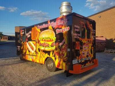 Food Truck Wraps Vinyl - 21