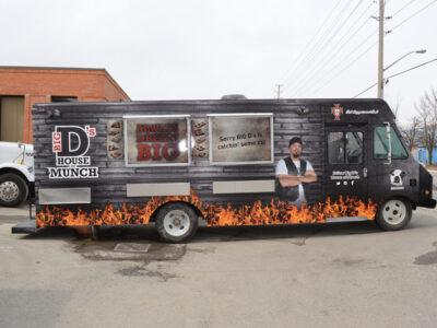 Food Truck Wraps Vinyl - 25