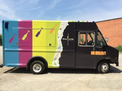 Food Truck Wraps Vinyl - 45
