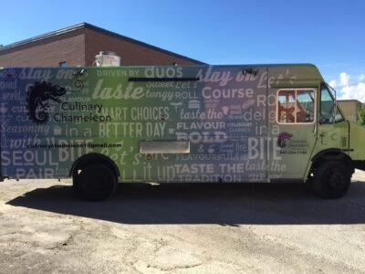 Food Truck Wraps Vinyl - 48