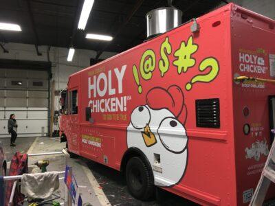 Food Truck Wraps Vinyl - 54